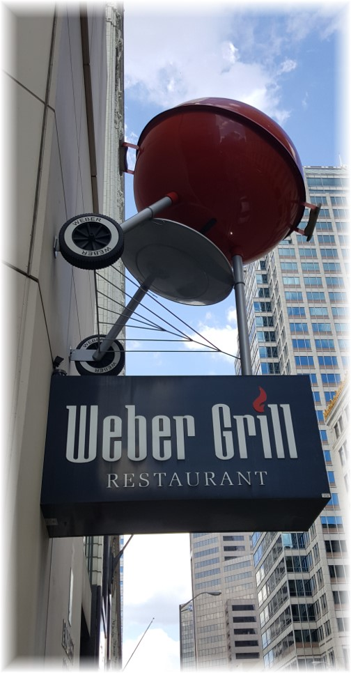 Weber Grill Restaurant, Indianapolis, IN 7/30/17