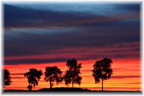 Kraybill Road sunset (Photo by Doug Maxwell)