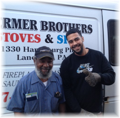 Stermer Brothers chimney sweeps 10/31/14