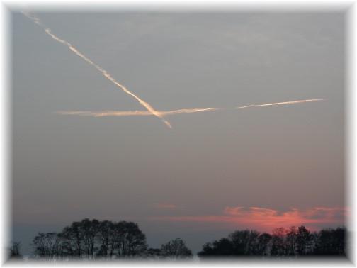 Sunset cross 10/30/13