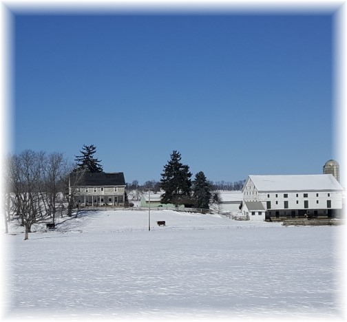 Beatty's Turnpike Road farm 2/14/16 (Click to enlarge)