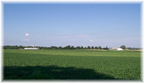 Rural scene in Lancaster County PA 7/29/10