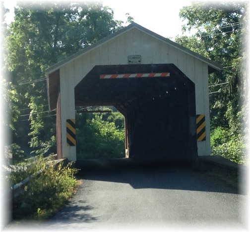 Forry's Mill Covered Bridge 6/29/14
