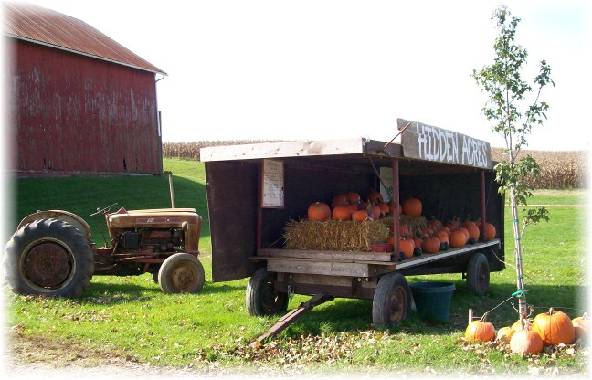 Pumpkin stand, Lancaster County, PA