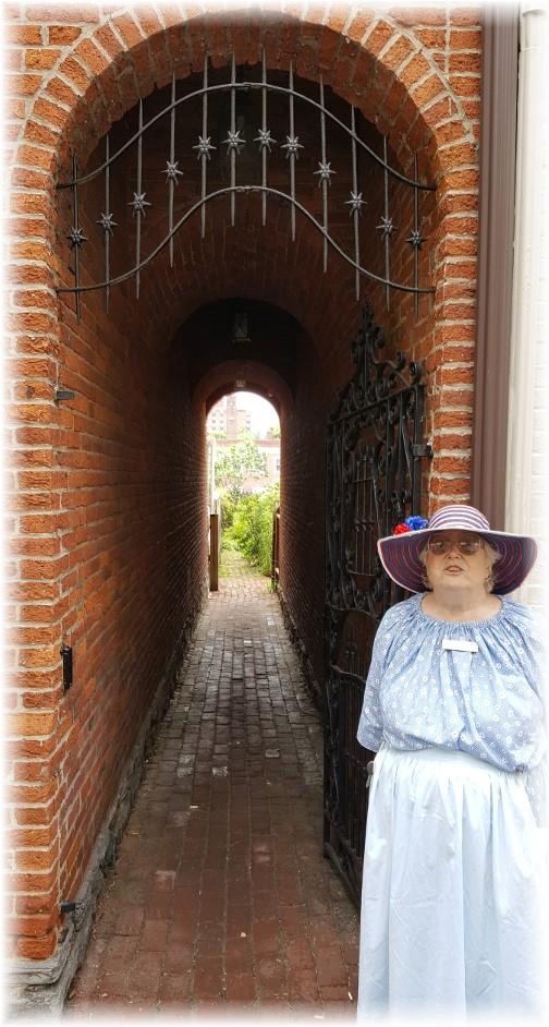 Lancaster City colonial tour guide 5/26/17
