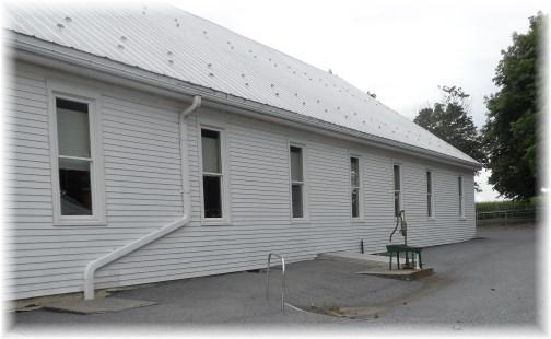 Old-order Mennonite Church, Lancaster County, PA 8/7/13