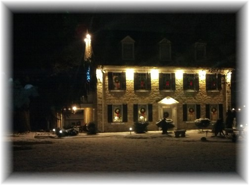 Silverstone Inn on Bowman Road, Lancaster County, PA 12/12/13
