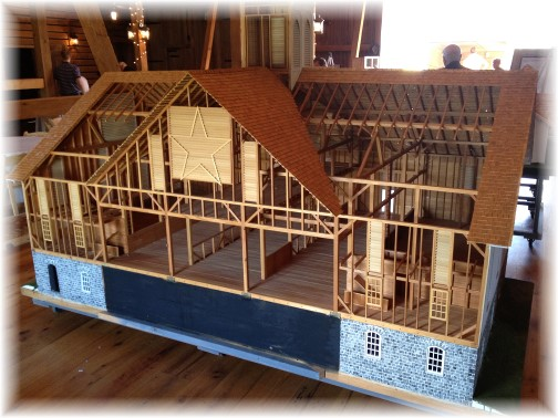 Model of Star barn 9/17/15