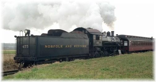 Strasburg Railroad train 12/28/12