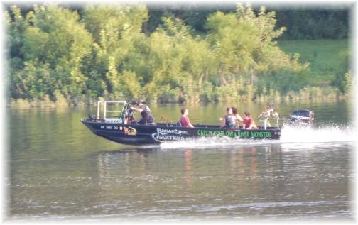 Susquehanna River fishing charter 7/16/17 (Ester)