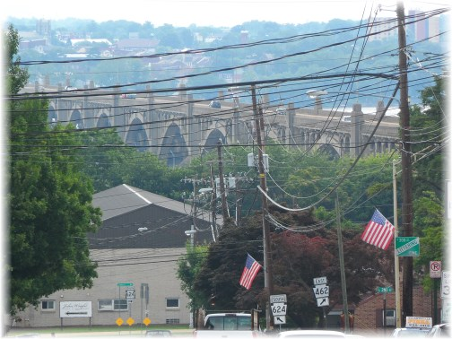 Veterans Memorial Bridge, Wrightsville, PA 6/30/13