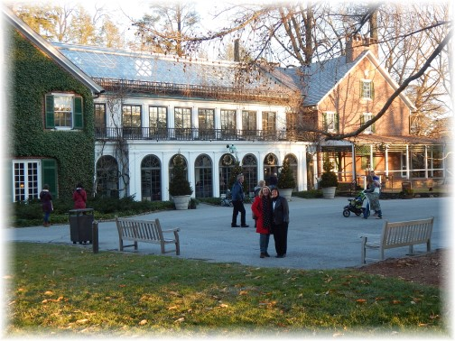 DuPont home at Longwood Gardens 12/19/14