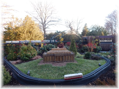 Train at Longwood Gardens 12/19/14