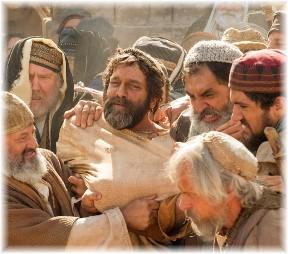 Gnashing of teeth at Stephen's martyrdom