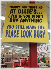 Ollies sign