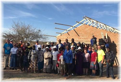 Zimbabwe mission team