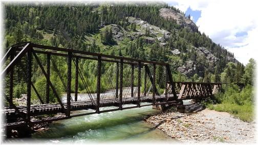 Durango/Silverton railroad, CO 7/8/16