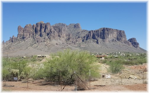 Superstition Mountains, Arizona 7/13/16