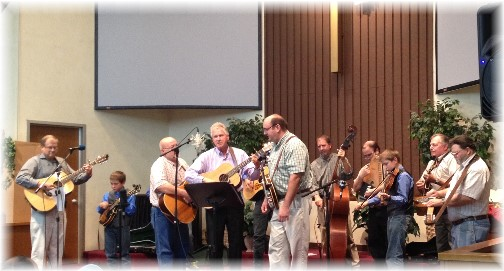 Bluegrass gospel groups at Mount Pleasant 11/15/15