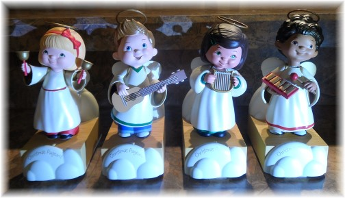 Hallmark singing angels (click on image for YouTube video)