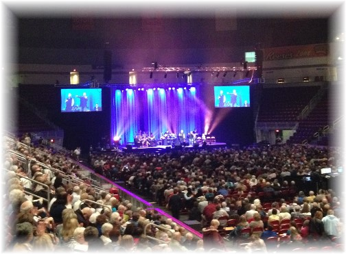 Gaither Homecoming concert, Hershey, PA 4/24/15