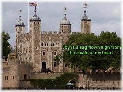Joy is the flag flown high