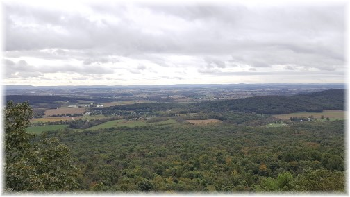 Appalachian Trail overlook 10/10/17