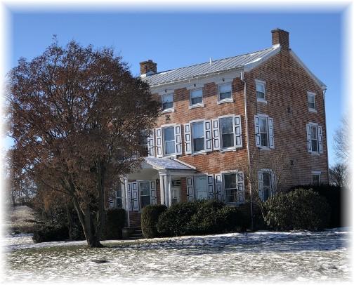 Berks County farmhouse 1/7/18