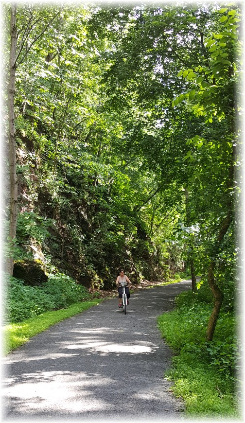 Rail Trail Bloomsburg, PA 6/27/17