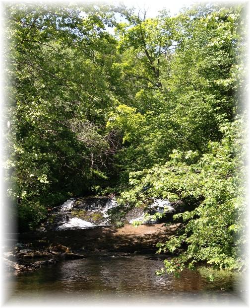 Buttermilk Falls along Delaware Water Gap 5/29/15