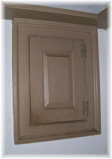 Cupboard at Daniel Boone Homestead