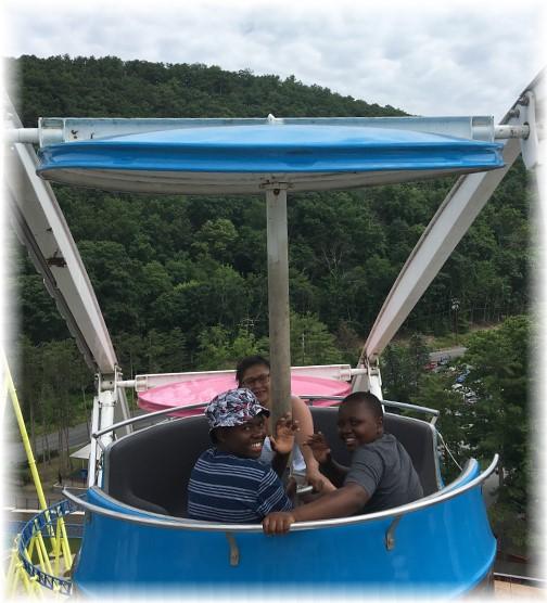 Ferris Wheel at Knoebels Park, Columbia County, PA 7/4/17