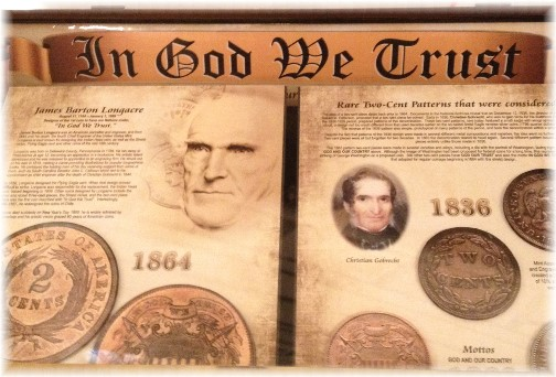 """In God We Trust"" in Pennsylvania Capitol rotunda"