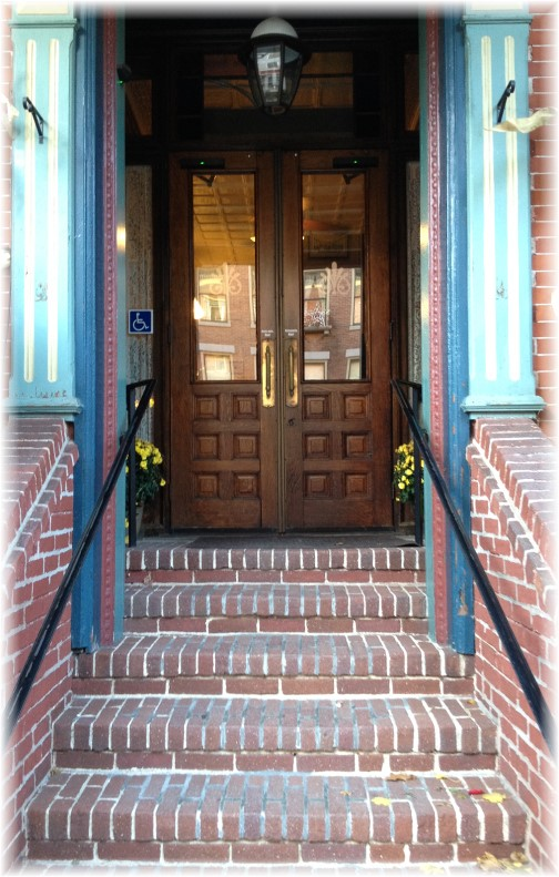 Door in Jim Thorpe, PA 11/2/14