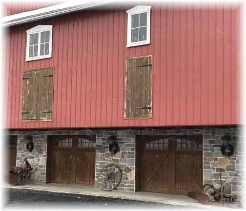 Lebanon County barn 1/30/18