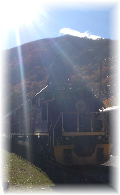 Train in Jim Thorpe, PA 11/2/14
