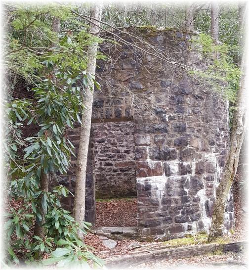 Lehigh River Gorge historical building 04/23/16