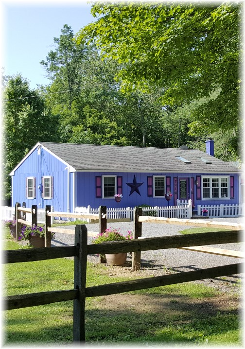 Purple house, Columbia County, PA 6/18/17 (Click to enlarge)
