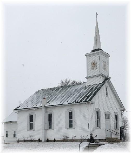 Sherks Church, Lebanon County 1/30/18