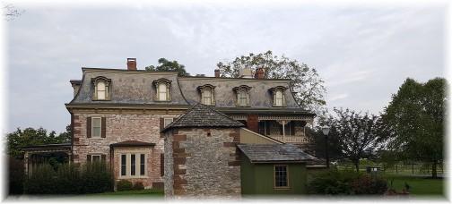 Tulpehocken Manor outhouse 9/12/17