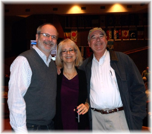Dave Balinski and wife, friend 10/21/12
