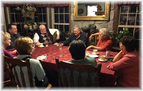 Dinner guests 3/27/15