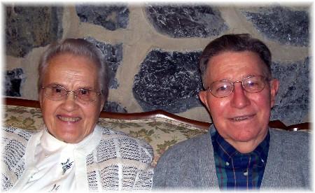 Pastor Jesse & Wilma Dourte 1/29/10