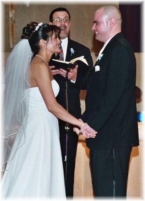 Wayne and Yvette's wedding