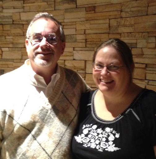 Kevin Kohler and wife at Haven event 11-15-14