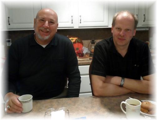 Pat Weber & John Uhler 10/19/13