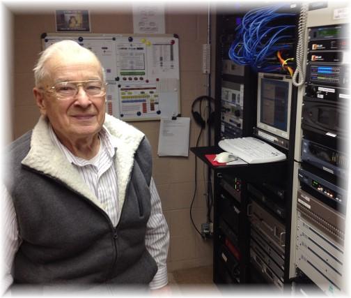 Ralph Haneman, chief engineer at WDAC 1/16/15