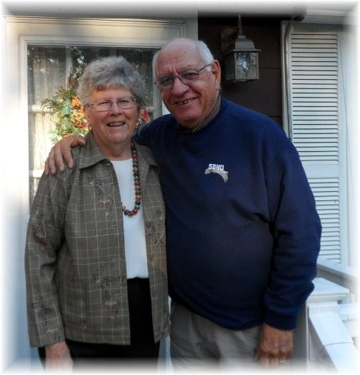 Jim and Doroothy Schmidt 11/14/12