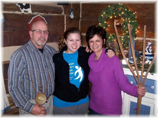 Joe and Beulah Snavely with Kelsie