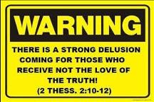 Warning - strong delusion